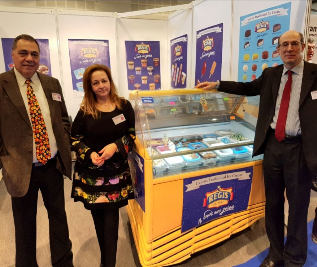 ice cream expo U.K. 2018