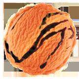 Orange Chocolate Ripple